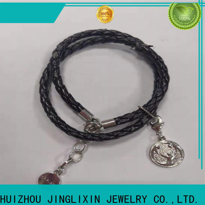 JINGLIXIN High-quality custom metal bracelets environmental protection for party