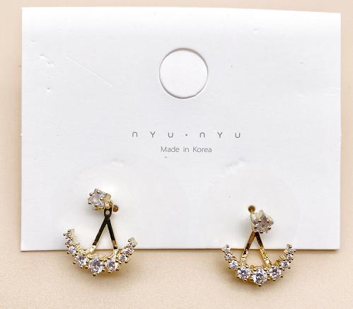 The moon earrings