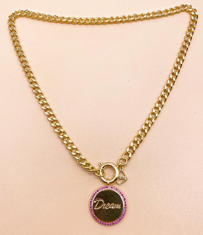 Desm pendant necklace