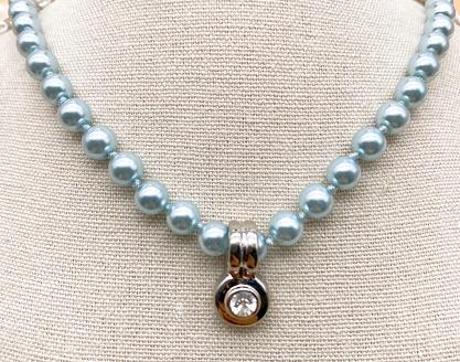 Plastic bead necklaces