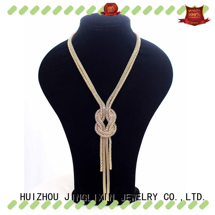 JINGLIXIN k jewelry necklaces manufacturer for women