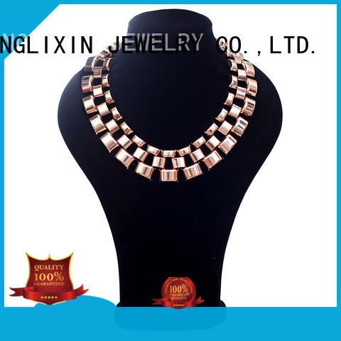 acrylic necklace for guys JINGLIXIN