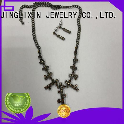 JINGLIXIN fine jewelry sets factory in beautiful gift box