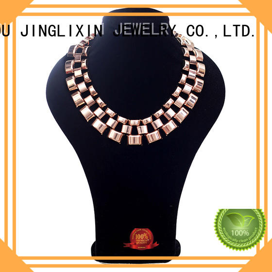 JINGLIXIN white fashion necklace stone for women