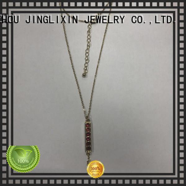 JINGLIXIN High-quality semi-precious stones necklace environmental protection for women