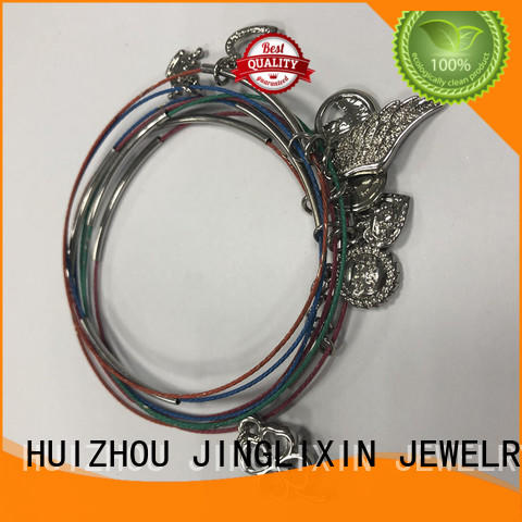 JINGLIXIN custom metal bracelets for business for party