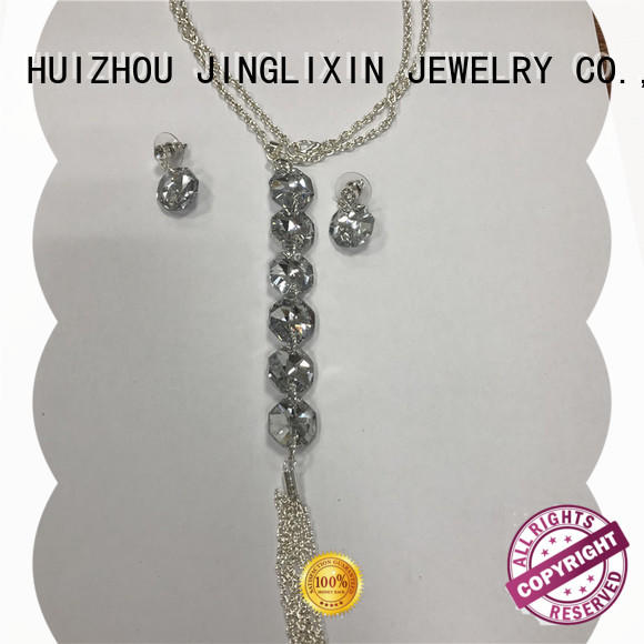 JINGLIXIN Best pearl jewelry sets factory for present