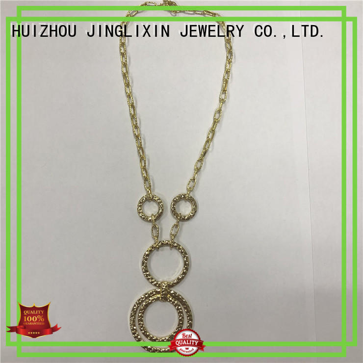 JINGLIXIN semi-precious stones necklace company for party