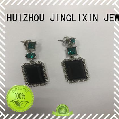 JINGLIXIN Best copper earrings Supply for present