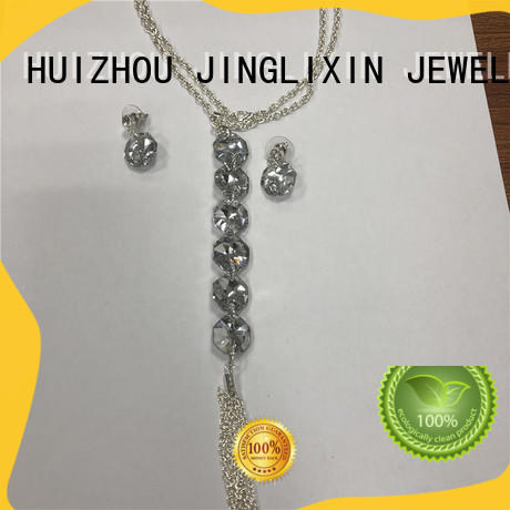 JINGLIXIN Top fine jewelry sets maker for party
