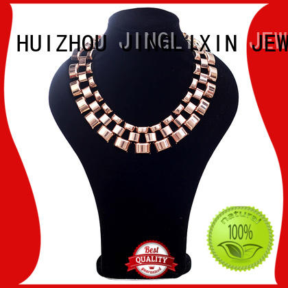 JINGLIXIN diamond new fashion gold necklace for wife