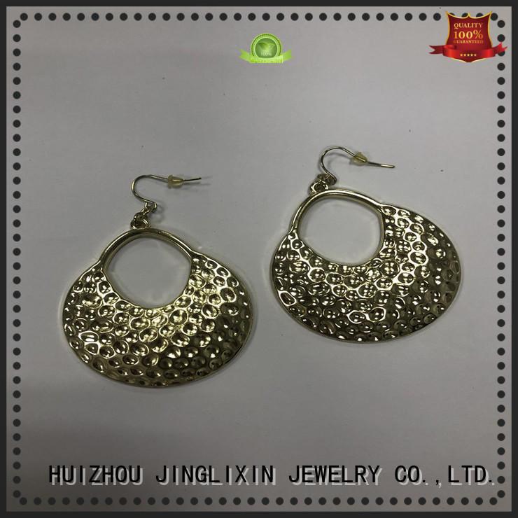 JINGLIXIN zircon silver drop earrings for present