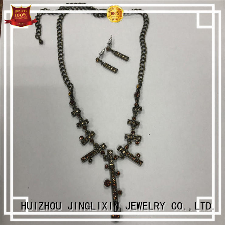 JINGLIXIN High-quality costume jewelry sets manufacturers for present