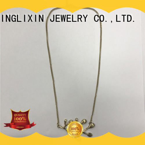 JINGLIXIN Top acrylic necklace manufacturers for gifts