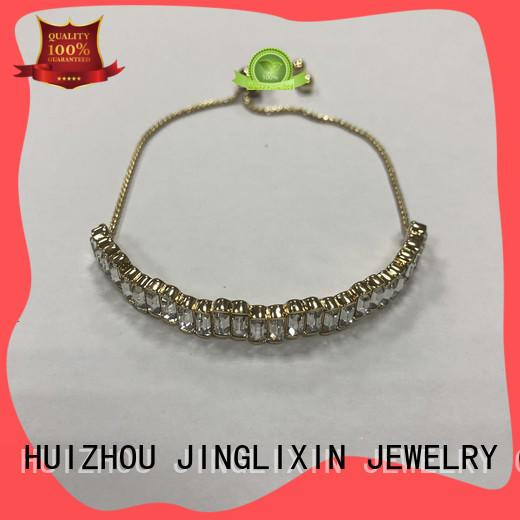 JINGLIXIN semi-precious stones bracelet manufacturers for sale