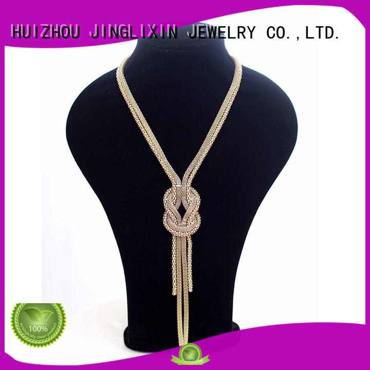 JINGLIXIN plated gold jewellery necklace for women