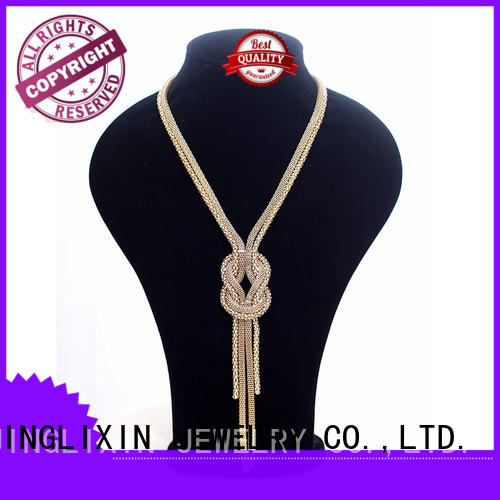 customized couple necklaces laser engraving for women JINGLIXIN