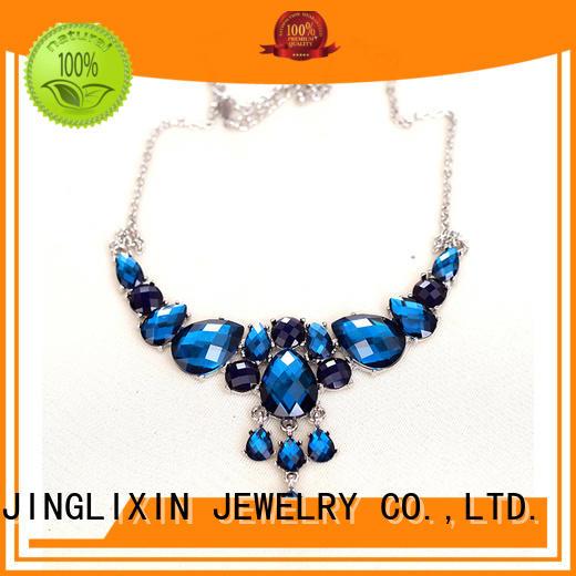 customized fashion jewelry design odm service for weomen JINGLIXIN