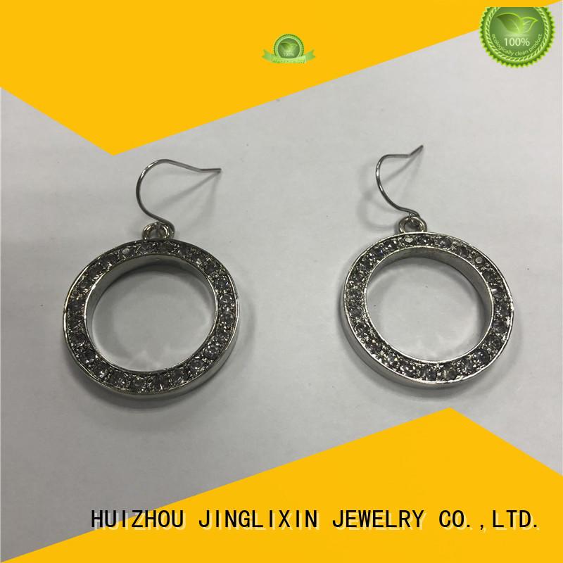 JINGLIXIN Best design earrings Supply for ladies
