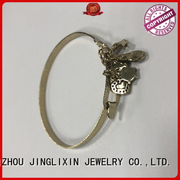 Wholesale custom metal bracelets environmental protection for ladies