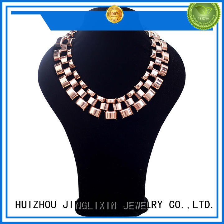 customized long costume necklaces factory for party JINGLIXIN
