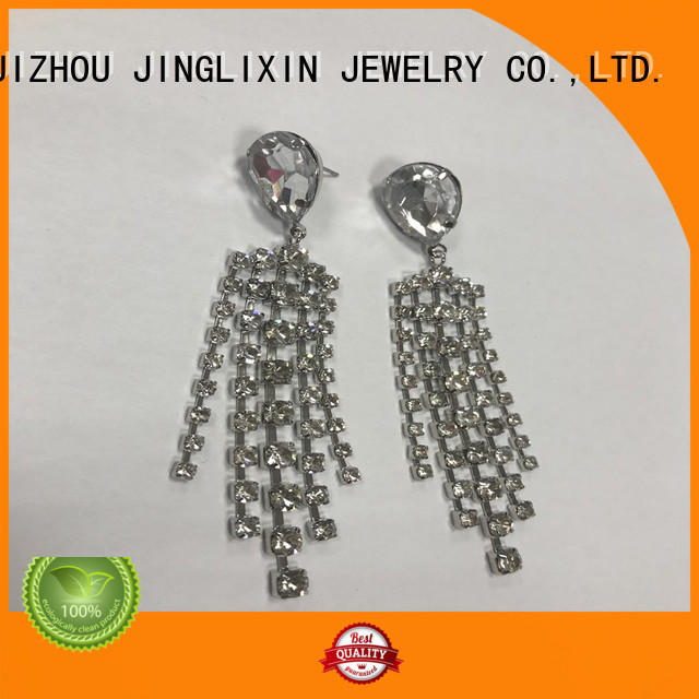 JINGLIXIN silver jewelry earrings supplier for sale