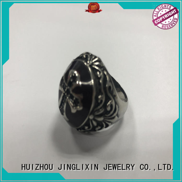 JINGLIXIN Best fashion jewelry rings company for present