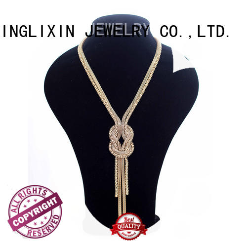 gold fashion necklace professional for women JINGLIXIN