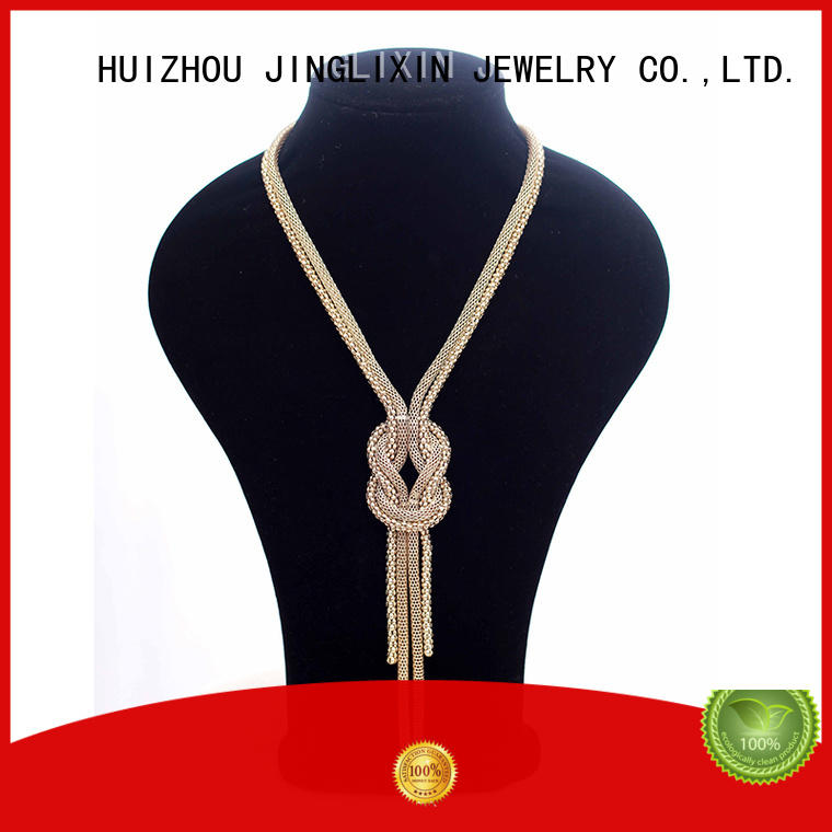 JINGLIXIN white long costume necklaces for guys