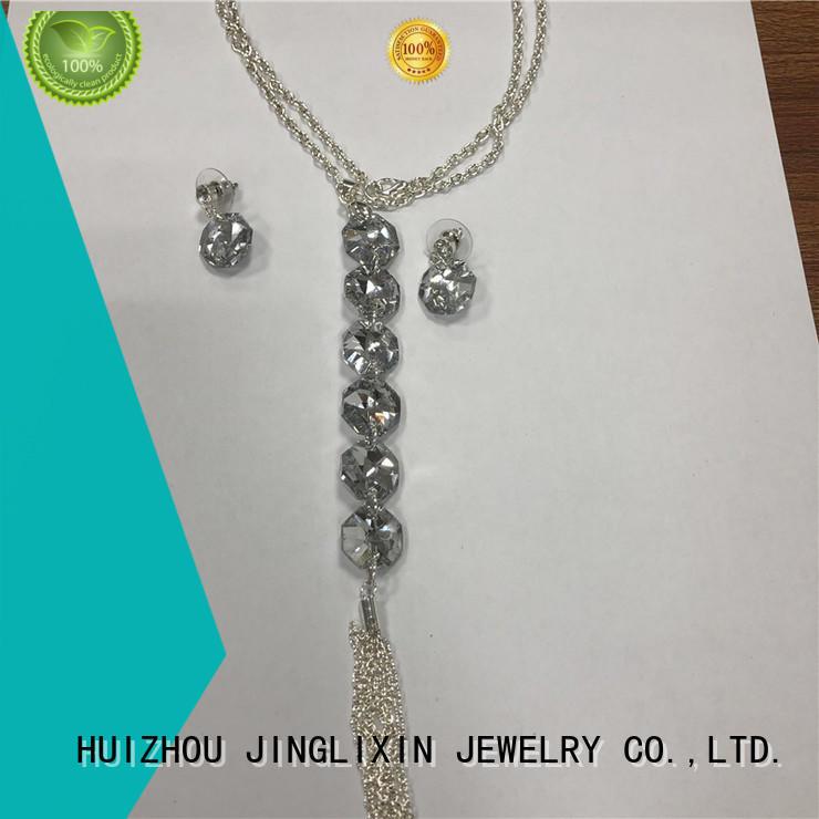 JINGLIXIN pearl jewelry sets maker in beautiful gift box
