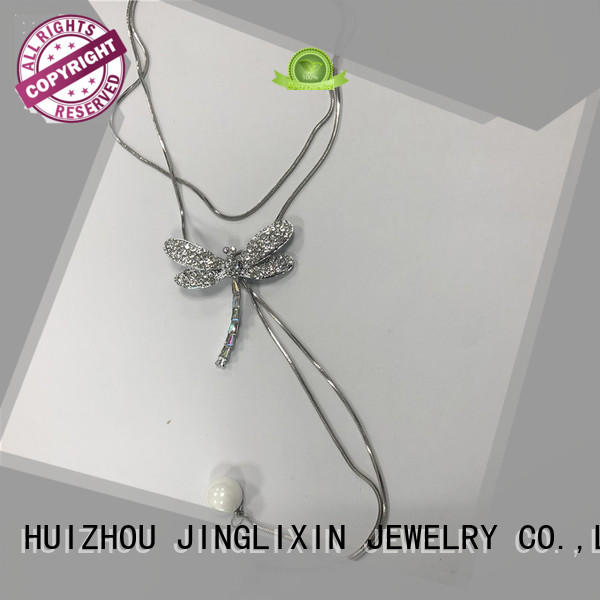JINGLIXIN Latest fashion necklaces company for guys