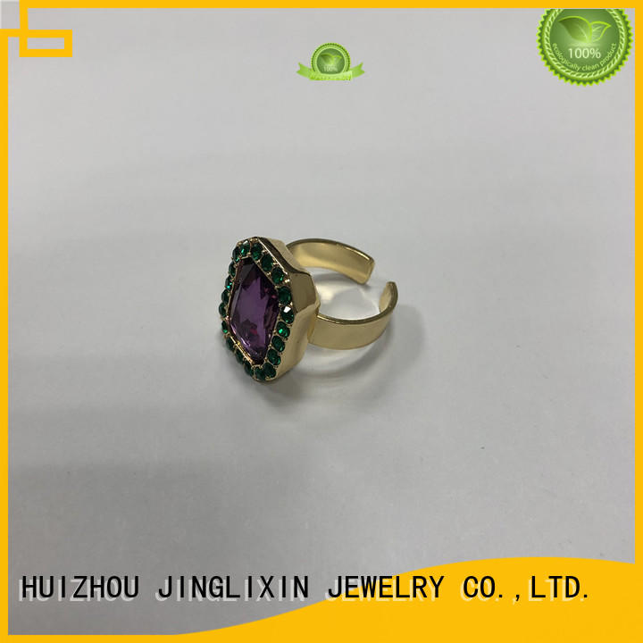 Wholesale fashion jewelry rings environmental protection for women