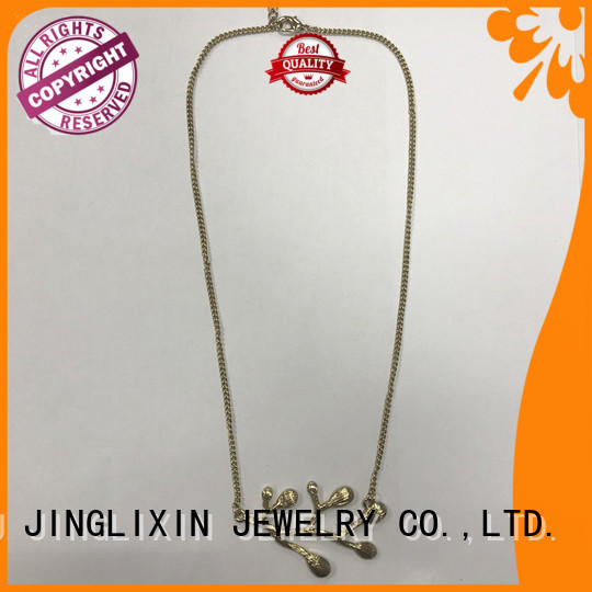 Top acrylic necklace factory for women