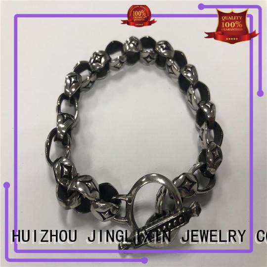 JINGLIXIN customized fashion jewelry design for men